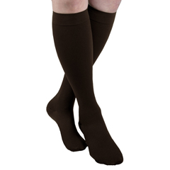 ITAMH-1110SBR - Ita-MedMAXAR® Mens Trouser Support Socks - Brown, Small