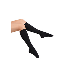 ITAMH-170SBL - Ita-MedMAXAR® Unisex Dress & Travel Support Socks - Black, Small