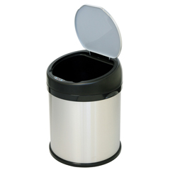 ITOIT08RS - iTouchless8 Gallon Stainless Steel Touchless Trash Can- Extra-Wide Opening