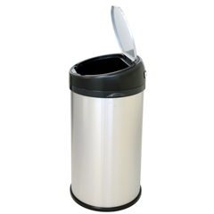 ITOIT13RS - iTouchless13 Gallon Stainless Steel Touchless Trash Can- Extra-Wide Opening
