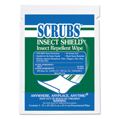 ITW91401 - SCRUBS® Insect Shield™ Insect Repellent Wipes