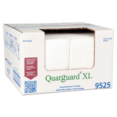 ITW9525 - Atlantic Mills® Quatguard® XL Microfiber Wipers