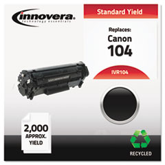 IVR104 - Innovera Remanufactured 0263B001AA (104) Toner, 2000 Yield, Black