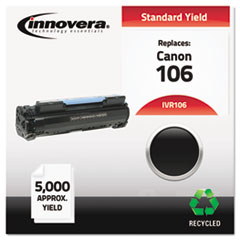 IVR106 - Innovera Remanufactured 0264B001AA (106) Toner, 5000 Yield, Black