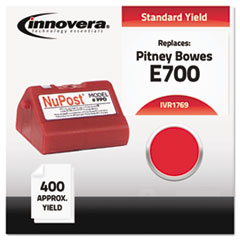 IVR1769 - Innovera Compatible with 769-0 Postage Meter,  400-600 Page-Yield, Red