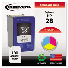 IVR2028A - Innovera Remanufactured 8728AN (28) Ink, 190 Page-Yield, Tri-Color