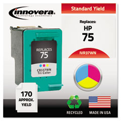 IVR37WN - Innovera Remanufactured CB337WN (75) Ink, 170 Page-Yield, Tri-Color