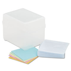IVR39400 - Innovera® Polypropylene CD/DVD Storage Box