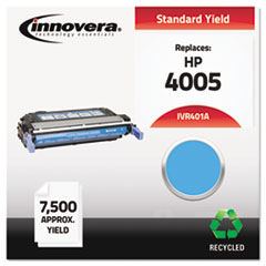IVR401A - Innovera Remanufactured CB401A (642A) Laser Toner, 7500 Yield, Cyan