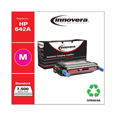 IVR403A - Innovera Remanufactured CB403A (642A)  Toner, 7500 Yield, Magenta