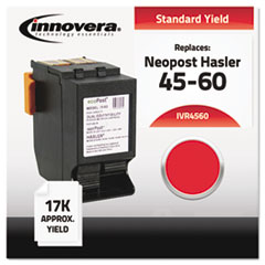 IVR4560 - Innovera Compatible with IJINK3456H Postage Meter, 17000 Page-Yield, Red