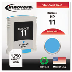 IVR4836A - Innovera Remanufactured C4836A (11) Ink, 1750 Page-Yield, Cyan