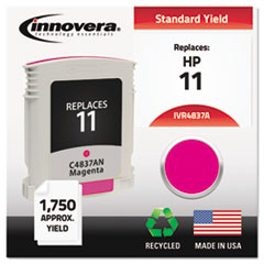 IVR4837A - Innovera Remanufactured C4837A (11) Ink, 1750 Page-Yield, Magenta