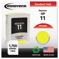 IVR4838A - Innovera Remanufactured C4838A (11) Ink, 1750 Page-Yield, Yellow