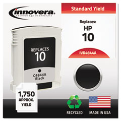 IVR4844A - Innovera Remanufactured C4844A (10) Ink, 1750 Page-Yield, Black
