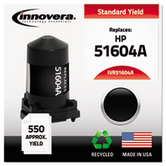 IVR51604A - Innovera Remanufactured 51604A Ink, 550 Page-Yield, Black