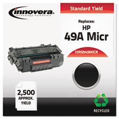 IVR5949MICR - Innovera Remanufactured Q5949A(M) MICR Toner, 2500 Yield, Black