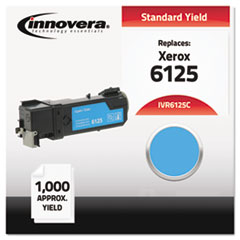 IVR6125C - Innovera Compatible with 106R01331 (Phaser 6125) Toner, 1000 Yield, Cyan
