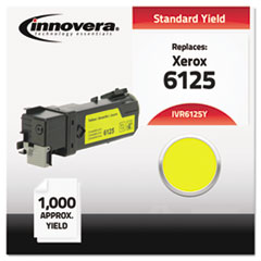 IVR6125Y - Innovera Compatible with 106R01333 (Phaser 6125) Toner, 1000 Yield, Yellow