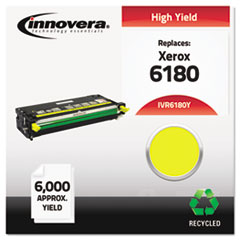 IVR6180Y - Innovera Remanufactured 113R00725 (Phaser 6180) Toner, 6000 Yield, Yellow