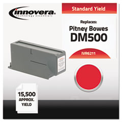 IVR6211 - Innovera Compatible with 621-1 Postage Meter, 15500 Page-Yield, Red