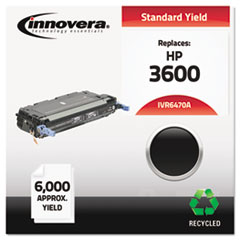 IVR6470A - Innovera Remanufactured Q6470A (501A) Laser Toner, 6000 Yield, Black