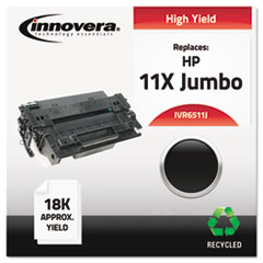 IVR6511J - Innovera Remanufactured Q6511X(J) (11J)  Toner, 18000 Yield, Black