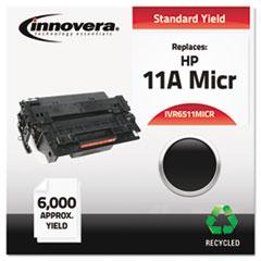 IVR6511MICR - Innovera Remanufactured Q6511A(M) MICR Toner, 6000 Yield, Black