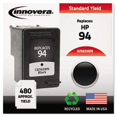 IVR65WN - Innovera Remanufactured C8765WN (94) Ink, 480 Page-Yield, Black