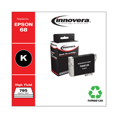 IVR68120 - Innovera Remanufactured High-Yield T068120 (68) Ink, 795 Page-Yield, Black