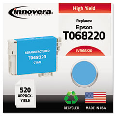 IVR68220 - Innovera Remanufactured High-Yield T068220 (68) Ink, 520 Page-Yield, Cyan