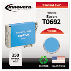 IVR69220 - Innovera Remanufactured T069220 Ink, 350 Page-Yield, Cyan