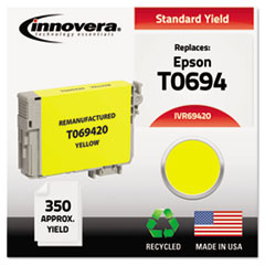IVR69420 - Innovera Remanufactured T069420 Ink, 350 Page-Yield, Yellow
