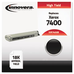 IVR7400B - Innovera Compatible with 106R01080 (Phaser 7400) Toner, 18000 Yield, Black