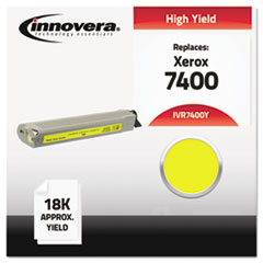 IVR7400Y - Innovera Compatible with 106R01079 (Phaser 7400) Toner, 18000 Yield, Yellow