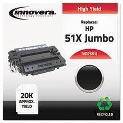 IVR7551J - Innovera Remanufactured Q7551X(J) (51J)  Toner, 18000 Yield, Black
