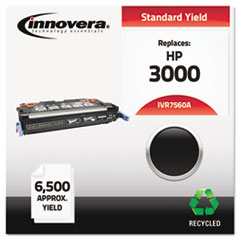IVR7560A - Innovera Remanufactured Q7560A (314A) Laser Toner, 6500 Yield, Black
