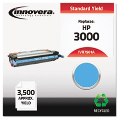 IVR7561A - Innovera Remanufactured Q7561A (314A) Toner, 3500 Page-Yield, Cyan