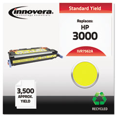 IVR7562A - Innovera Remanufactured Q7562A (314A) Laser Toner, 3500 Yield, Yellow