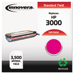 IVR7563A - Innovera Remanufactured Q7563A (314A) Laser Toner, 3500 Yield, Magenta