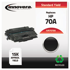 IVR7570A - Innovera Remanufactured Q7570A (70A) Laser Toner, 15000 Yield, Black