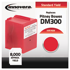 IVR7659 - Innovera Compatible with 765-9 Postage Meter, 8000 Page-Yield, Red