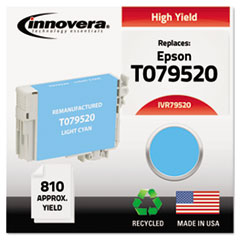 IVR79520 - Innovera Remanufactured High-Yield T079520 (79) Ink, 810 Yield, Light Cyan