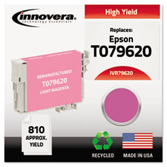 IVR79620 - Innovera Remanufactured High-Yield T079620 (79) Ink, 810 Yield, Light Magenta