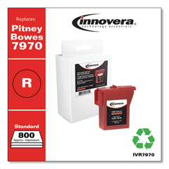 IVR7970 - Innovera Compatible with 797-0 Postage Meter, 800 Page-Yield, Red