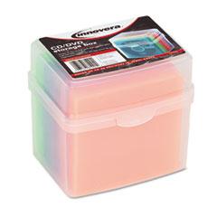 IVR81901 - Innovera® CD/DVD Slim Storage Box