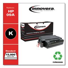 IVR83009 - Innovera Remanufactured C3909A (09A) Laser Toner, 15000 Yield, Black