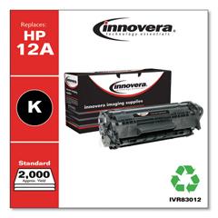 IVR83012 - Innovera Remanufactured Q2612A (12A) Laser Toner, 2000 Yield, Black