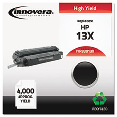 IVR83013X - Innovera Remanufactured Q2613X (13X) Laser Toner, 4000 Yield, Black