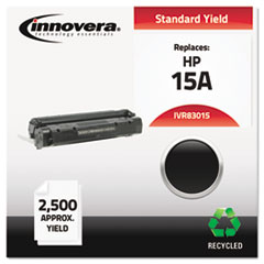 IVR83015 - Innovera Remanufactured C7115A (15A) Laser Toner, 2500 Yield, Black
